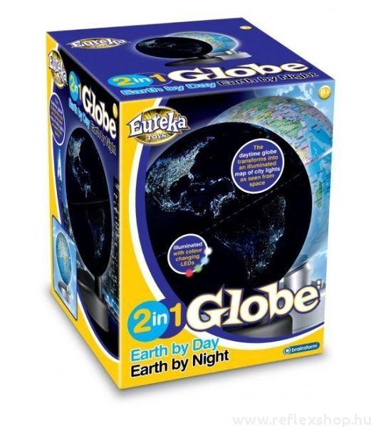 2 az 1-ben Földgömb Éjjel-Nappal