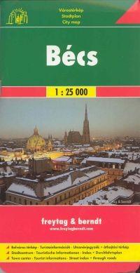 Bécs teljes térkép