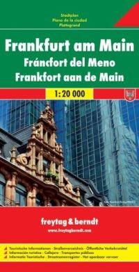 Frankfurt térkép
