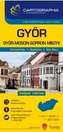 Győr várostérkép (+Győr-Moson-Sopron megye térképe)