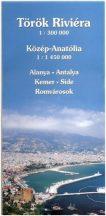 Török tengerpart térkép Hibernia 1:300 000