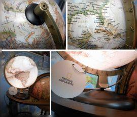 A Földgömb National Geographic executive földgömb
