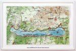 Balaton-felvidék domború térkép kicsi