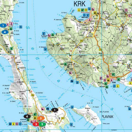 losinj térkép Cres, Lošinj   sziget térkép (Island pocket)   A Lurdy Ház