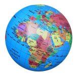 Felfújható Földgömb 30 cm átmérő