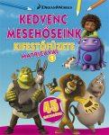 DWA Kedvenc mesehőseink kifestőfüzete matricákkal 1. - Home, Shrek, Madagaszkár
