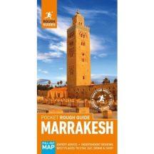 Marrakesh útikönyv (Angol NYELVŰ) - Térképmelléklettel - Pocket Rough Guides 2018