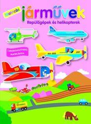 Matricás járművek - Repülőgépek és helikopterek - Foglalkoztatófüzet