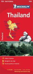 Thailand - Thaiföld térkép