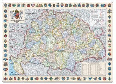A Magyar Szent Korona Országai Térkép