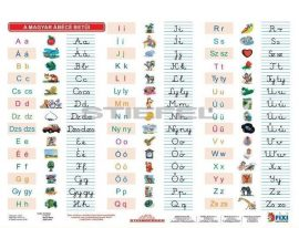 A magyar ABC betűi + munkaoldal FIXI-tanulói munkalap