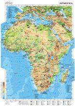 Afrika gazdasága, 160*120 cm, laminált, faléces
