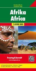 Afrika kontinenstérkép