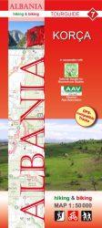 Albánia 7. turistatérkép