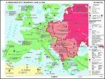 Az államszocialista rendszer felbomlása Közép- és Kelet Európában,  160*120 cm - laminált, faléces