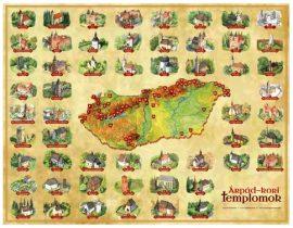 Árpád-kori templomok látványtérképen