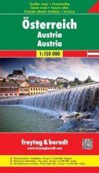 Ausztria szabadidőatlasz