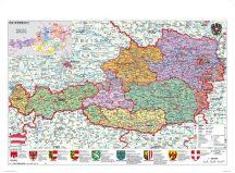 Ausztria közigazgatása / domborzata könyöklő