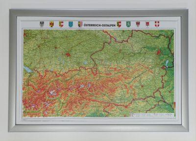 Ausztria Domboru Terkep A Lurdy Haz Terkepbolt Tel 456 05 61