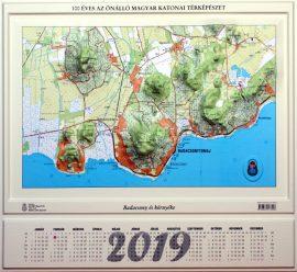 Badacsony és környéke 2019 dombortérképe