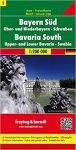Németország 1 Dél- és Közép-Bajorország, 1:200 000