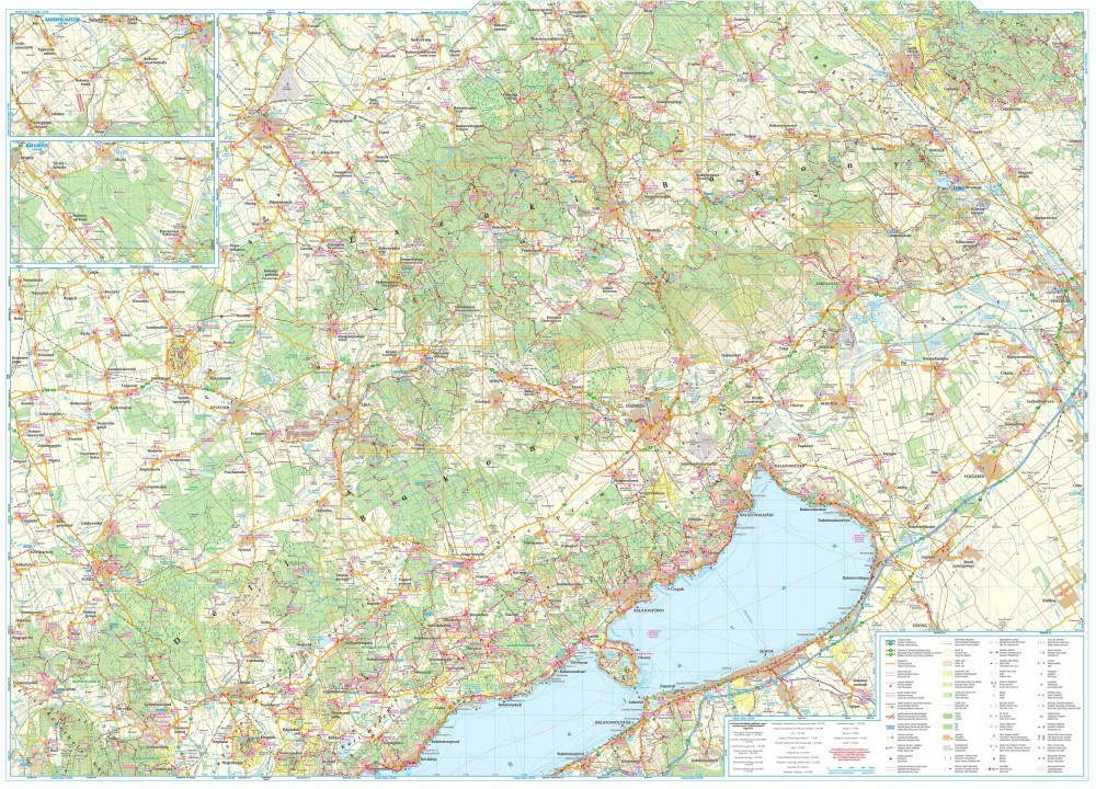 bakony térkép Bakony 2017   turistatérkép   A Lurdy Ház Térképbolt,Tel:456 05 61  bakony térkép
