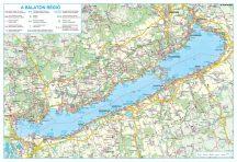 A Balaton régió falitérkép - TÖBB VÁLASZTÁS - 10500 Ft - 99990 Ft
