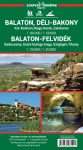 Balaton, Balaton-felvidék - turistatérkép