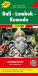 Bali · Lombok · Komodo térkép