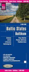 Balti országok - Baltikum autótérkép