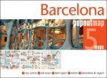 Barcelona - várostérkép, popout