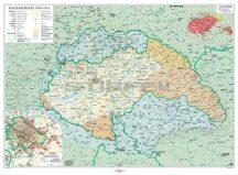 A bécsi döntések következményei (Mo.1938-1944) 160*120 cm - laminált, faléces
