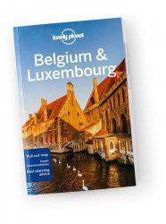 Belgium & Luxembourg travel guide Lonely Planet útikönyv