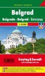 Belgrád city pocket térkép