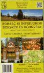 Borszék és környéke túristatérkép