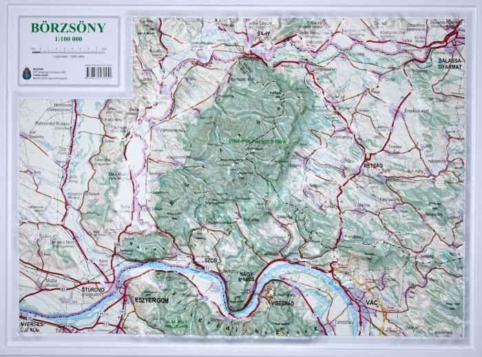 börzsöny domborzati térkép Börzsöny domború térkép   A Lurdy Ház Térképbolt,Tel:456 05 61  börzsöny domborzati térkép