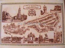 Budai vár 65*45 cm - asztali könyöklő