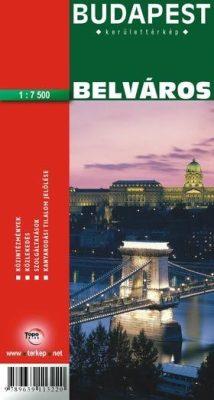 Budapest Belvaros I V Vi Vii Kerulet Terkep A Lurdy Haz