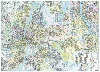 Budapest Faliterkep 122 86 Cm 2020 As Kiadas A Lurdy Haz
