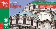 Bulgária - hajtogatott autótérkép - 2008