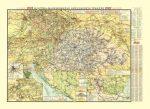 Ausztria-Magyarország közlekedési térképe
