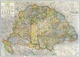 Magyarország Közigazgatási Térképe 1918 (Kogutowicz)