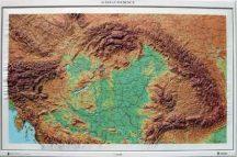 Kárpát-medence domború térkép