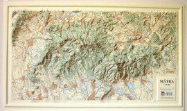Mátra domború térkép