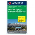 Dachsteingruppe - Schladminger Tauern KOMPASS 293 - turistatérkép