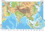 Dél-Ázsia gazdasága, 160*120 cm, laminált, faléces