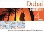 Dubai- várostérkép, popout