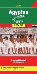 Egyiptom  - autóstérkép