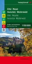 Eifel-Mosel-Hunsrück-Westerwald, Top 10 tipp, 1:150 000