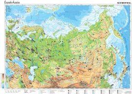Észak-Ázsia gazdasága, 160*120 cm, laminált, faléces